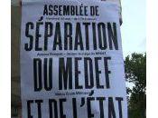 Séparation Medef l'état