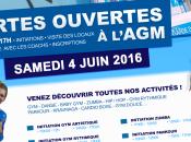 PORTES OUVERTES L'AGM samedi juin 2016