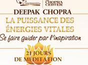 Profitez gratuitement jours méditation avec Deepak Chopra