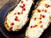 Aubergines rôties Marie, livre recettes