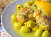 Tajine poulet citron confit