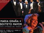 soir tout week-end, María Graña Sexteto Mayor Torquato l'affiche]