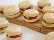 Macarons burger Mac' Chocolate