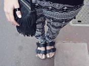 tenue noir blanc