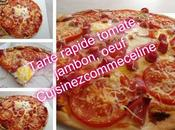 Tarte rapide jambon tomate oeufs