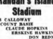 September 1938: Calloway Randall's Island stadium