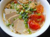 riêu (soupe vermicelles crabe revisitée)