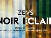 NOIR ÉCLAIR Zevs expose Château Vincennes