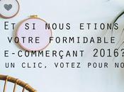 E-commerçant 2016 votez pour p'tite Manufacture