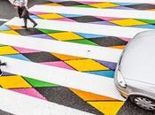 Madrid passages piétons prennent couleurs