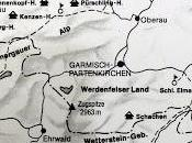 Alpes bavaroises: carte refuges montagne visités Louis Bavière