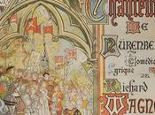 Maîtres chanteurs Nuremberg, affiche d'Emile Beaussier pour Grand théâtre Lyon