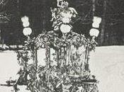 Rare photographie traîneau Louis Bavière dans neige