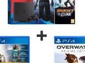 Plan Console Slim DriveClub Uncharted Ratchet Clank Destiny Collection Overwatch 369.99€