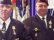 Président Paul DEMARCHI Porte Drapeau l'Honneur