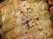 Rôti épaule) porc lentement cuit danoise