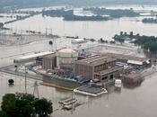 centrale nucléaire américaine cernée eaux