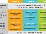 TOUTES vacances scolaires 2017 officielles France
