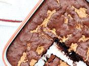 Brownies chocolat beurre cacahuètes mimine