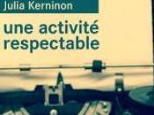 activité respectable Julia Kerninon