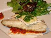 Filet Daurade l'Unilatéral Mayonnaise Wasabi Cracker Purée Tomates Séchée