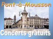 Estivales 2008 Concerts gratuits Pont-à-Mousson (54)