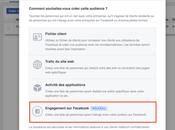 Facebook comment créer audience personnes interagi avec votre Page