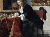 Vermeer maîtres peinture genre Musée Louvre