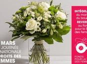 bouquet solidaire Interflora mars