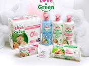 Découverte :Les couches écologique Love green