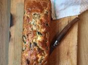 Recette Cake salé tomates séchées, feta olives noires (facile sans gluten)