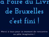 [SALON] bilan Foire Livre Bruxelles