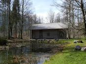cabane Hunding l'ermitage Gurnemanz dans parc château Linderhof (photos)