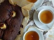 Cake chocolat poires