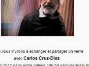 Galerie Denise RENE Carlos Cruz-Diez partir Juin 2017