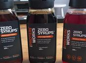 Test sauces sans calorie Zero Syrups TheProteinWorks
