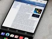 téléphone avec écran rétractable sous principal?