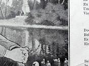 Othon Bavière, dessin poème (carte postale ancienne)