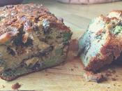 Recette Cake brocoli, roquefort noix Végétarien}