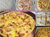 Tarte rapide saucisses fromage raclette