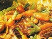 Sauté veau carottes l'orange