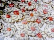 Sablés chocolat roses pate d'amande pour fitre2017