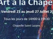 l'Art Chapelle Noyers cher l'homme traces partir Juillet 2017
