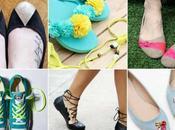 idées pour customiser chaussures (ballerines, tongs, baskets…)