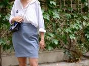 chemise blanche oversize asymetrique