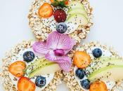 Petit-déjeuner Vegan Galette muesli fruitée homemade