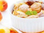 Clafoutis abricots frais, version allégée