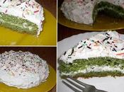 Gâteau Vert, Vert Sans Colorant Surprise