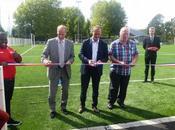 Lomme Délivrance SRLD inauguré nouvelle pelouse synthétique stade Eeden