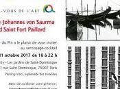 rendez-vous l'Art exposition Johannes Sauna Gérard Saint Fort Paillard